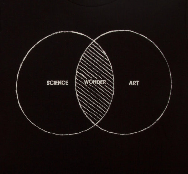 Science Wonder Art womens T