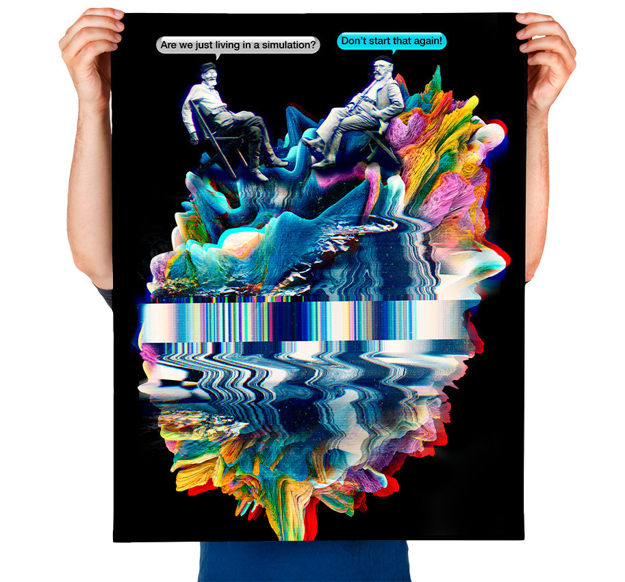 Simulation Art Print
