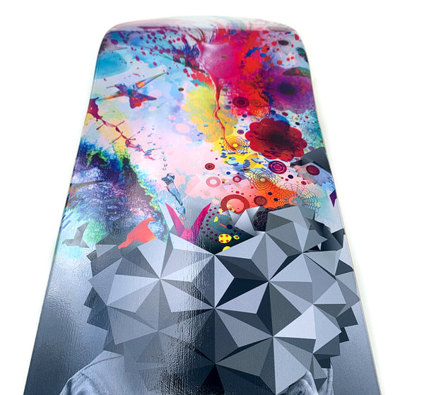Limited Edition Study Skateboard Art Deck