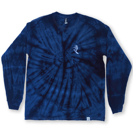 Astro Surfer Spider Wash Long Sleeve Shirt