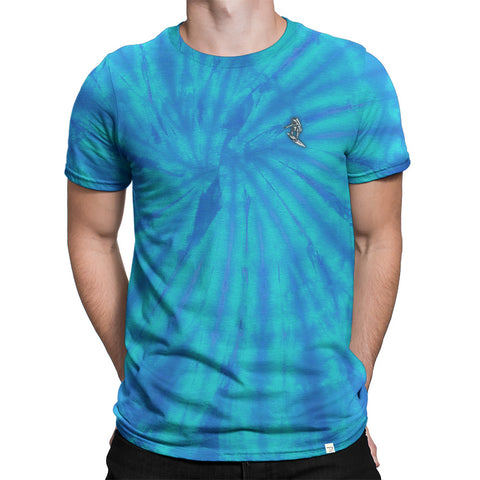 Astro Surfer Spider Wash Tshirt