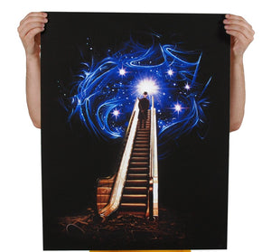 Cosmic Escalator Art Print