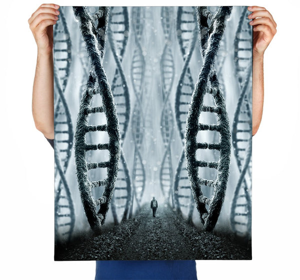 DNA Forest Art Print