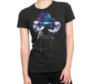 Super Symmetry Womens T