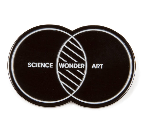 Science Art Wonder Pin