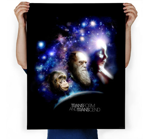 Transform and Transcend Art Print
