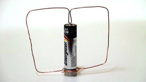 Homopolar Motor Using Magnets.