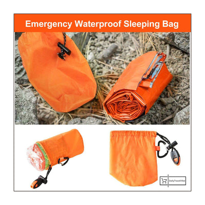 8x Emergency Waterproof Sleeping Bag - dailytravelvibe