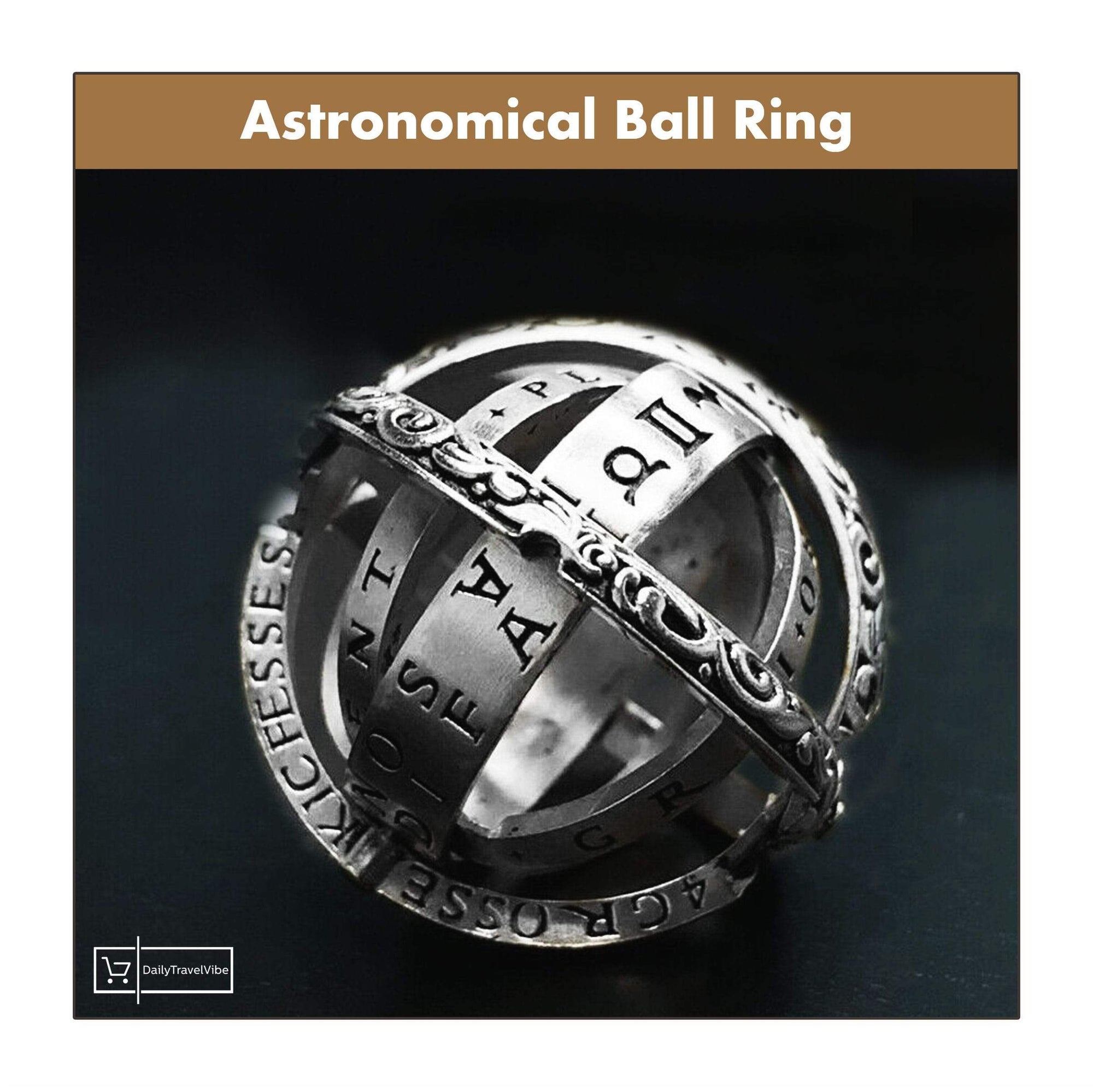 Astronomical Ball Ring - dailytravelvibe