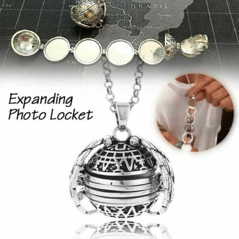Expanding Photo Locket Necklace - dailytravelvibe