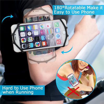 180° Rotatable Phone Armband - dailytravelvibe