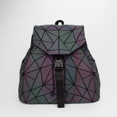 Luminous Backpack (White/Black/Rainbow) - dailytravelvibe