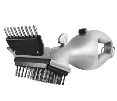 Stainless Steel BBQ Cleaning Brush - dailytravelvibe
