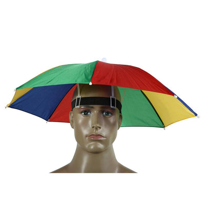 Foldable Umbrella Hat - dailytravelvibe