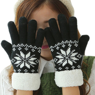 Gloves & Mittens - Thermal Fleece Touchscreen Gloves