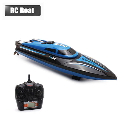 High-Speed Racing RC Boat Toy (30km/h) - dailytravelvibe