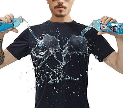 Hydrophobic Stain Proof T-shirts - dailytravelvibe