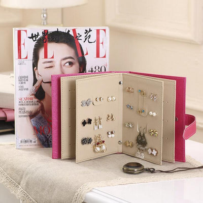 Fancy Earring Book Storage - dailytravelvibe