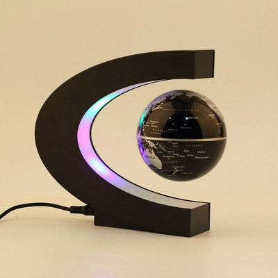 Levitating Globe with LED Light - dailytravelvibe