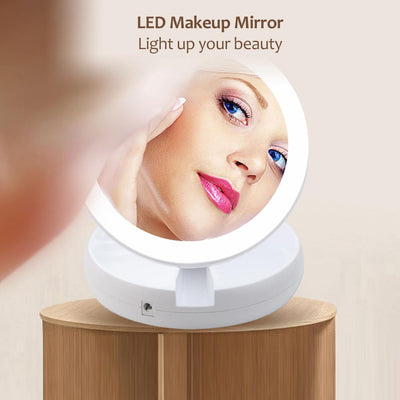 Makeup 10x Magnifying Mirror - dailytravelvibe