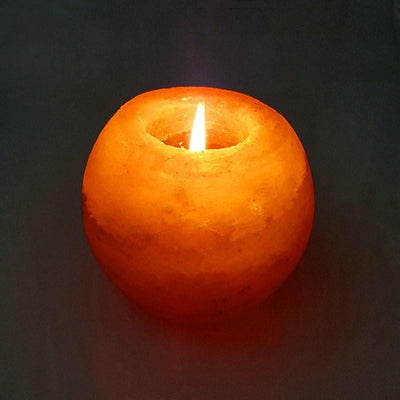 Glowing Himalayan Natural Salt Lamp - dailytravelvibe