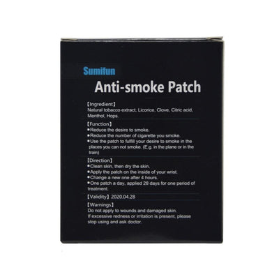 Miracle Anti-Smoking Patch - dailytravelvibe