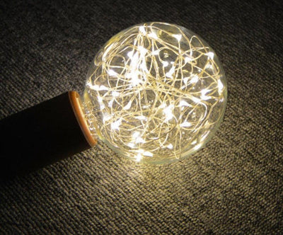 Christmas Vintage LED Light Bulb - dailytravelvibe