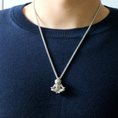 Premium Galaxy Astronaut Necklace - dailytravelvibe