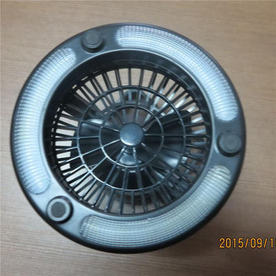 Portable LED Lamp With Fan - dailytravelvibe