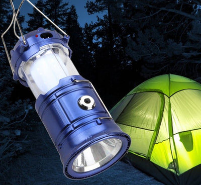 Solar-Powered LED Lantern Charger - dailytravelvibe
