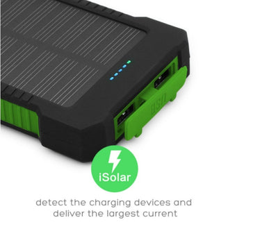 Solar Power Portable Charger (10,000 MAH) - dailytravelvibe