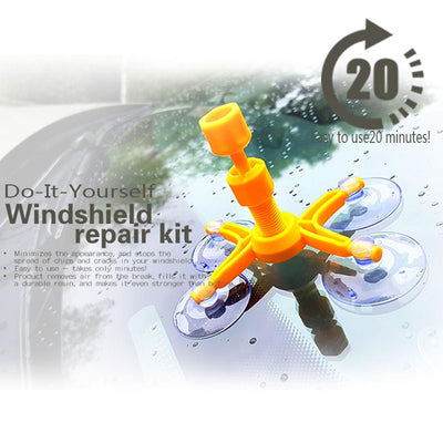 Car Windscreen Repair Kit - dailytravelvibe