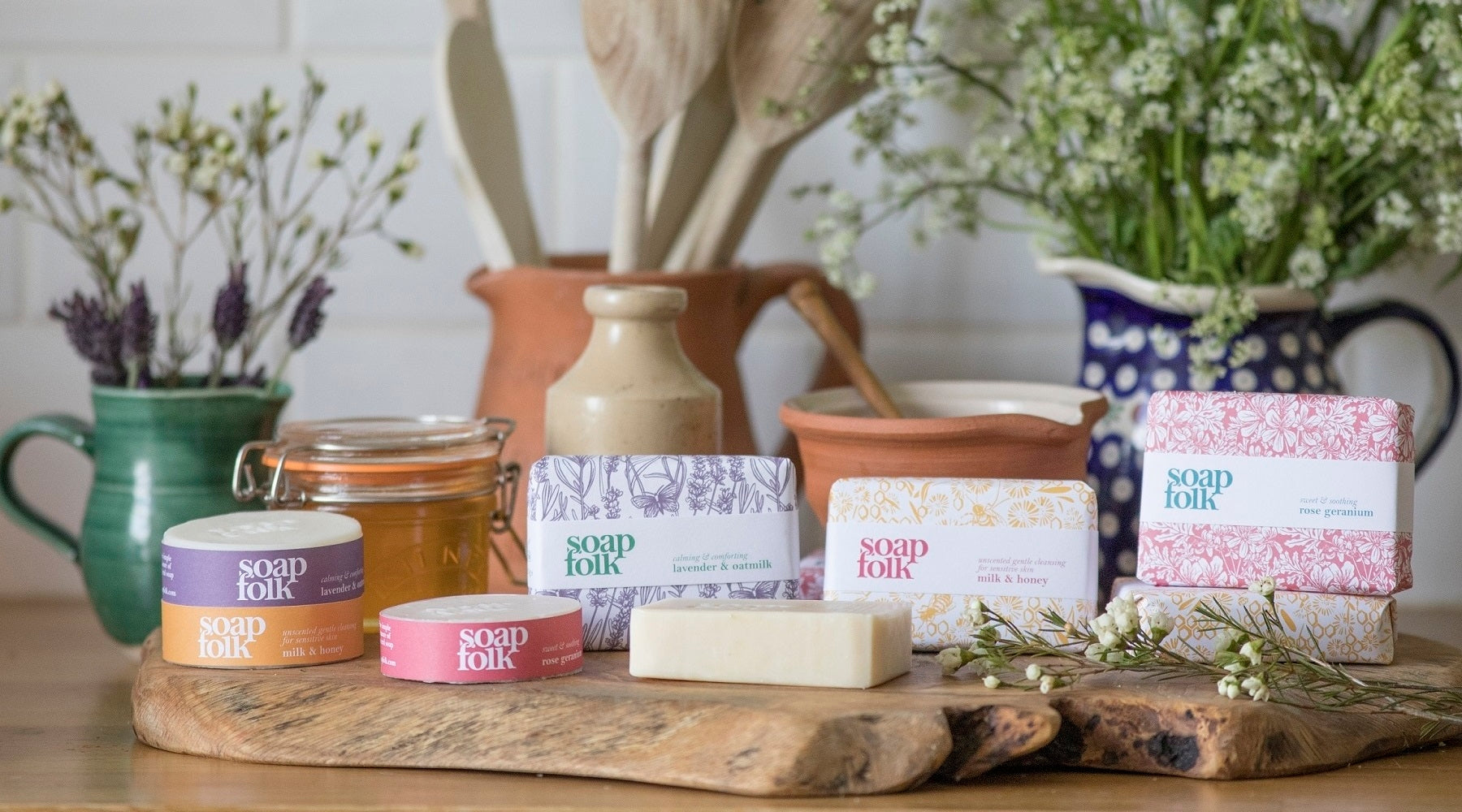 Soap Folk - Natural Soap Collection