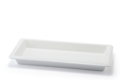 Classic Buffetware - Rectangular Deep Dish Ceramic Plate