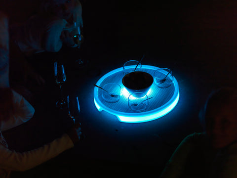 Tron Round Serving Tray