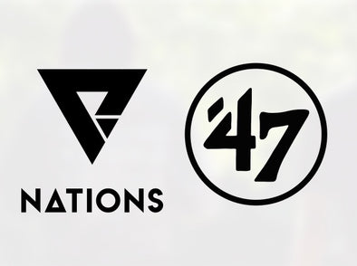 We Are Nations Partners with '47 Sports Apparel Brand