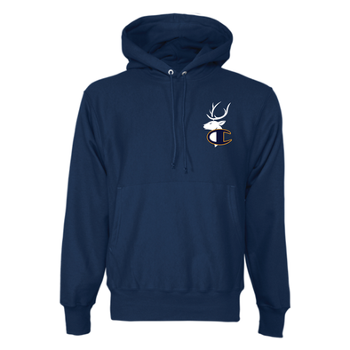 Triumph Letterman Pullover Hoodie - Navy Blue
