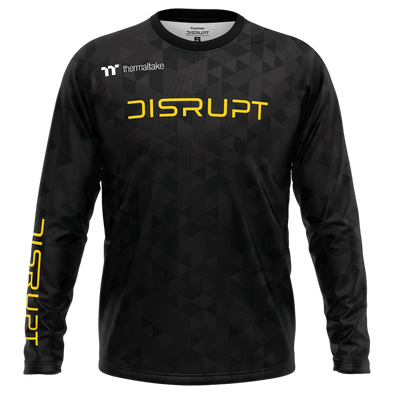 Disrupt 2020 Long Sleeve Pro Jersey - Black