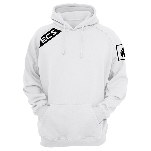 Nations ECS Slant Pullover Hoodie - White - We Are Nations