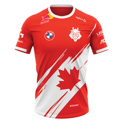 G2 Canada Jersey 2021