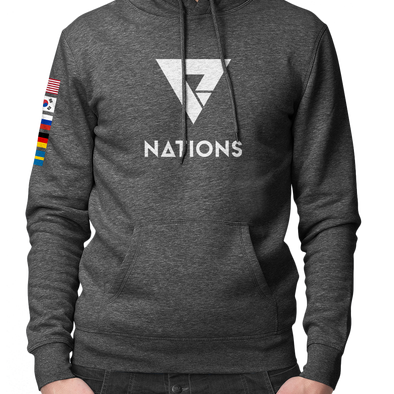 Nations Nations Flag Pullover Hoodie - We Are Nations