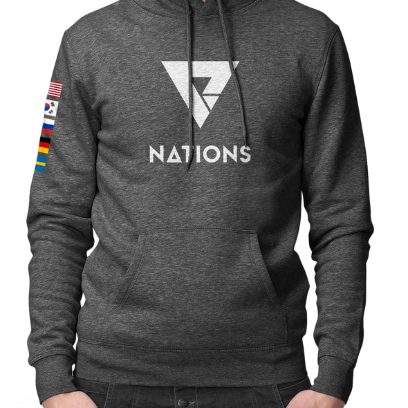 Nations Flag Pullover Hoodie