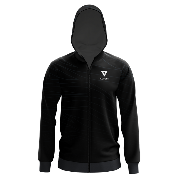 Nations Nations Pro Hoodie - Black - We Are Nations