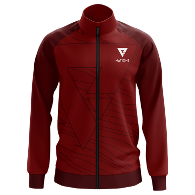 Nations Nations Pro Jacket  - Red - We Are Nations