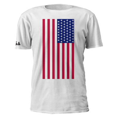 Nations US Logo Flag Tee - We Are Nations