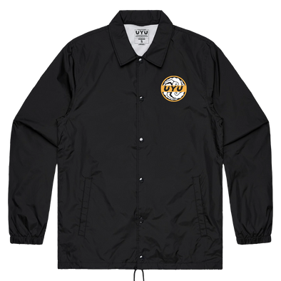 UYU Bold Coaches Jacket - Black