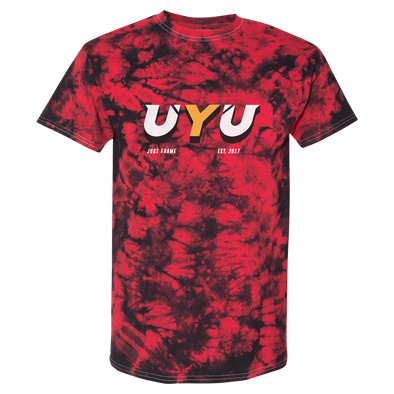 UYU Drop Tie-Dye Tee - Black