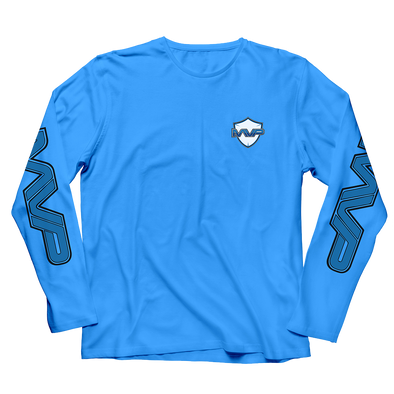 Nations MVP LONGSLEEVE T-SHIRT - BLUE - We Are Nations
