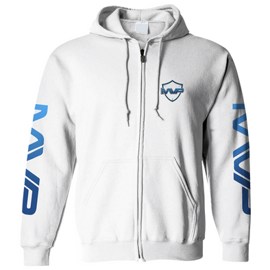 Nations MVP ZIP HOODIE - WHITE - We Are Nations