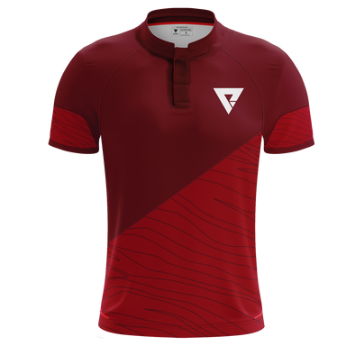 Nations Pro Plus Hybrid Jersey - Red - We Are Nations